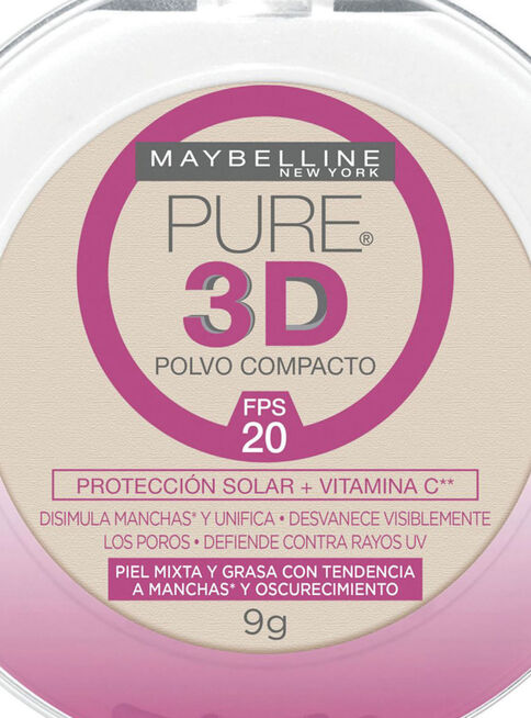 Polvo%20Pure%203D%20Claro%20Natural%20220%20Maybelline%2C%2Chi-res