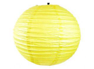 Pantalla de Lámpara Attimo Papel Amarillo,,hi-res