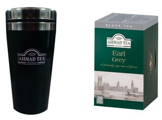Travel Mug + Té Earl Grey Ahmad,,hi-res