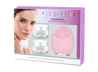 Set Tratamiento Facial Cleansing Cremas Hidratación y Nutrición Argan Petrizzio,,hi-res