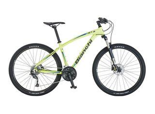 Bicicleta MTB Bianchi K27.2 Aro 27.5 Unisex Freno Disco Hidráulico,Azul Petróleo,hi-res