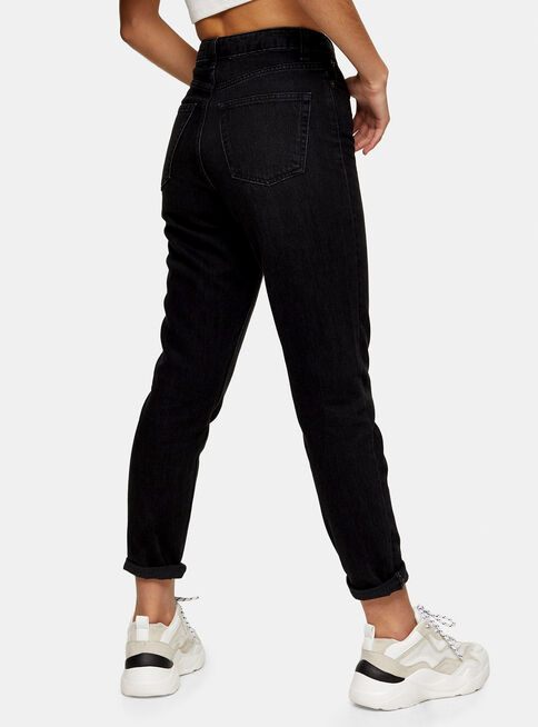 Jeans%20Mom%20Washed%20Black%20Largo%2030%20Topshop%2C%C3%9Anico%20Color%2Chi-res
