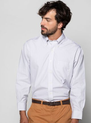 Camisa Ajustada Regent Brooks Brothers,Gris,hi-res