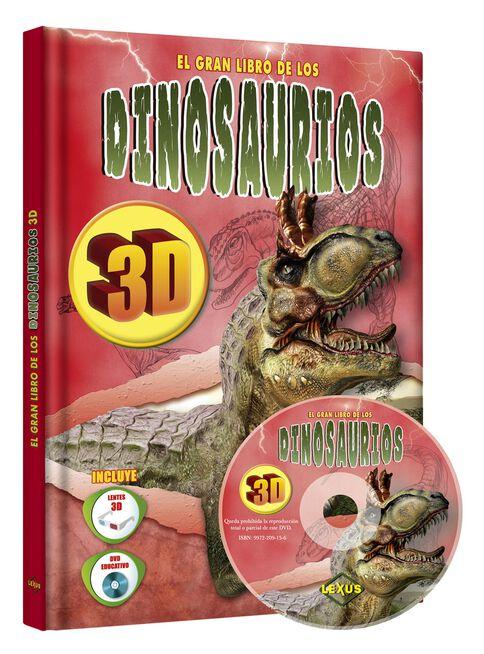 Dinosaurios En 3d Lexus Editores Libros Especializados Paris Cl Descubrí la mejor forma de comprar online. dinosaurios en 3d lexus editores