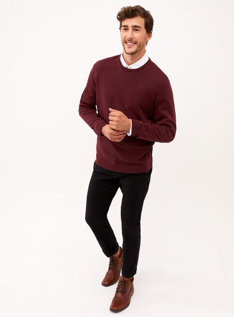 Sweater%20Crew%20Neck%20Vintage%20Burdeo%20Trial%C2%A0Sport%C2%A0%2CP%C3%BArpura%2Chi-res