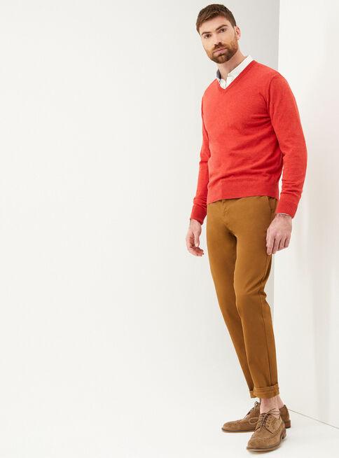 Sweater%20B%C3%A1sico%20Cuello%20V%20Greenfield%2CGranate%2Chi-res