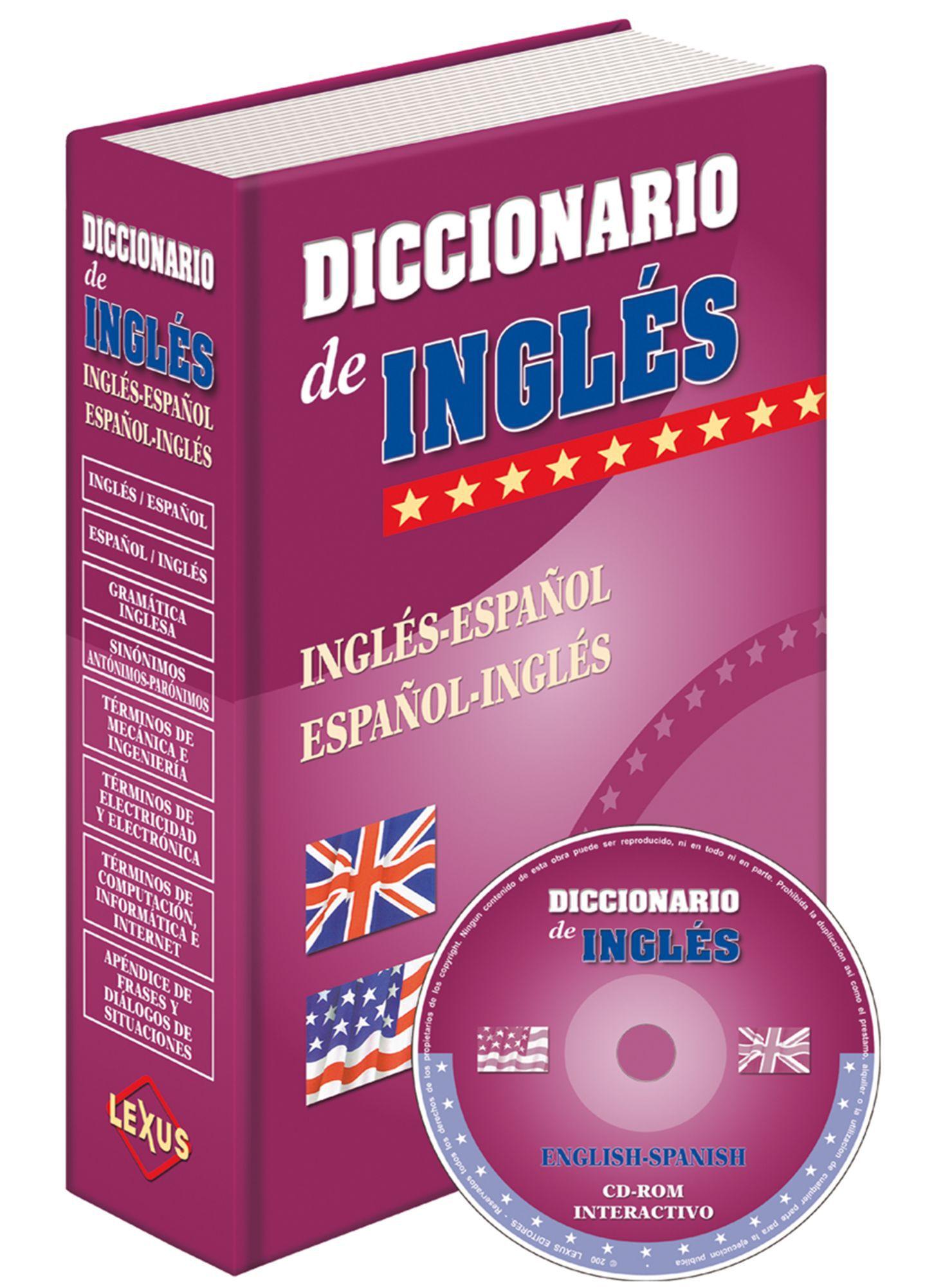 Diccionario De Inglés Español - Lexus Editores - Libros ... 3436c105e463