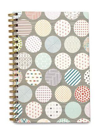 Cuaderno Espiral Puntos American Crafts 25 x 17 cm,,hi-res