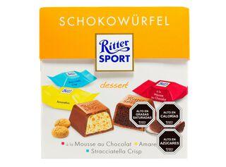Chocolate Mini Cubes Dessert 176 gr Ritter,,hi-res