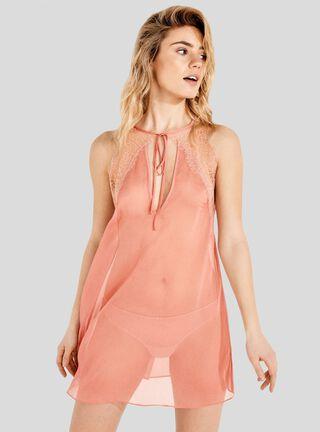 Camisa De Dormir Summer Sense Frq Women'Secret,Coral,hi-res