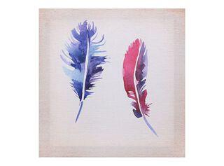 Canvas Plumas 40 x 40 cm Attimo,,hi-res
