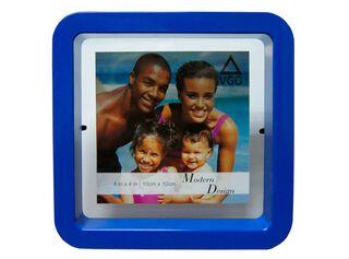 Marco de Fotos Plástico Attimo 10 x 10 cm,Azul,hi-res