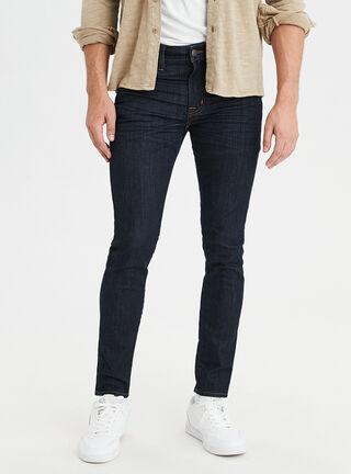 Jeans Super Skinny Dark American Eagle,Azul Oscuro,hi-res
