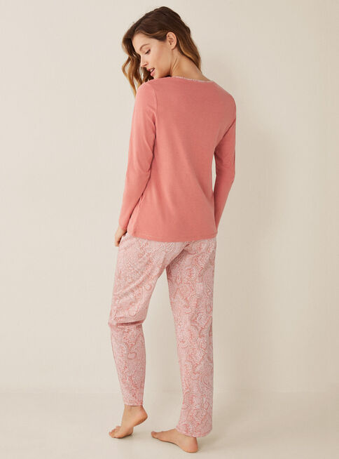 Pijama%20Daily%20Boho%20Women'Secret%2CCoral%2Chi-res