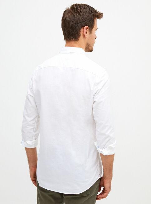 Camisa%20Oxford%20B%C3%A1sico%20Regular%20Fit%20Tommy%20Hilfiger%2CBlanco%2Chi-res