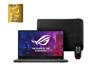 "NOTEBOOK ASUS ROG ZEPHYRUS G14 GA401IV-HA134T AMD RYZEN 9 GEFORCE RTX 16GB 1TB SSD 14"""