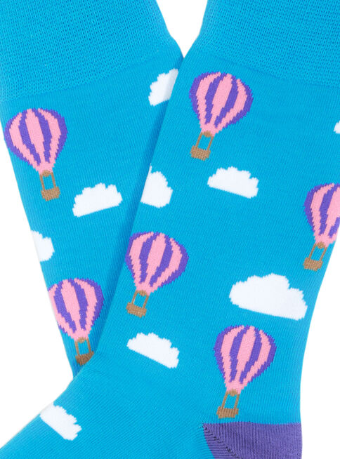Calcetines%20Hombre%20Dise%C3%B1o%20Globo%20Socks%20Lab%2CCeleste%2Chi-res