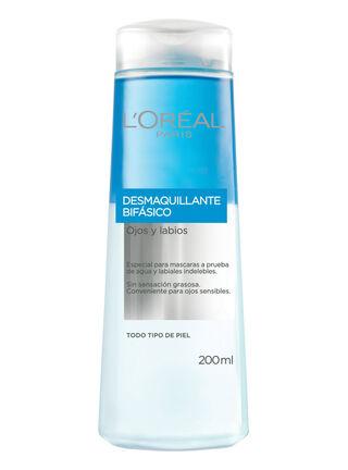 Desmaquillante L'Oréal Paris Dermo Expertise Bifásico 200 ml,,hi-res