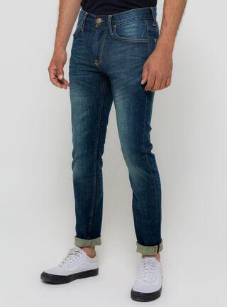 Jeans Focalizado Skinny Lee,Azul Oscuro,hi-res