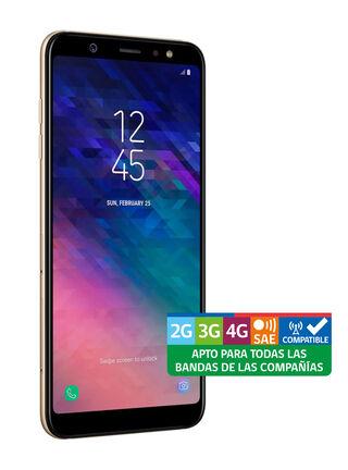 Smartphone Samsung Galaxy A6+ Dorado Liberado,,hi-res