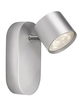 Lámpara Apliqué Star Aluminio Gris 1 Luz 8,2 cm Signify,,hi-res