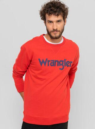 Polerón Retro Wrangler,Rojo,hi-res