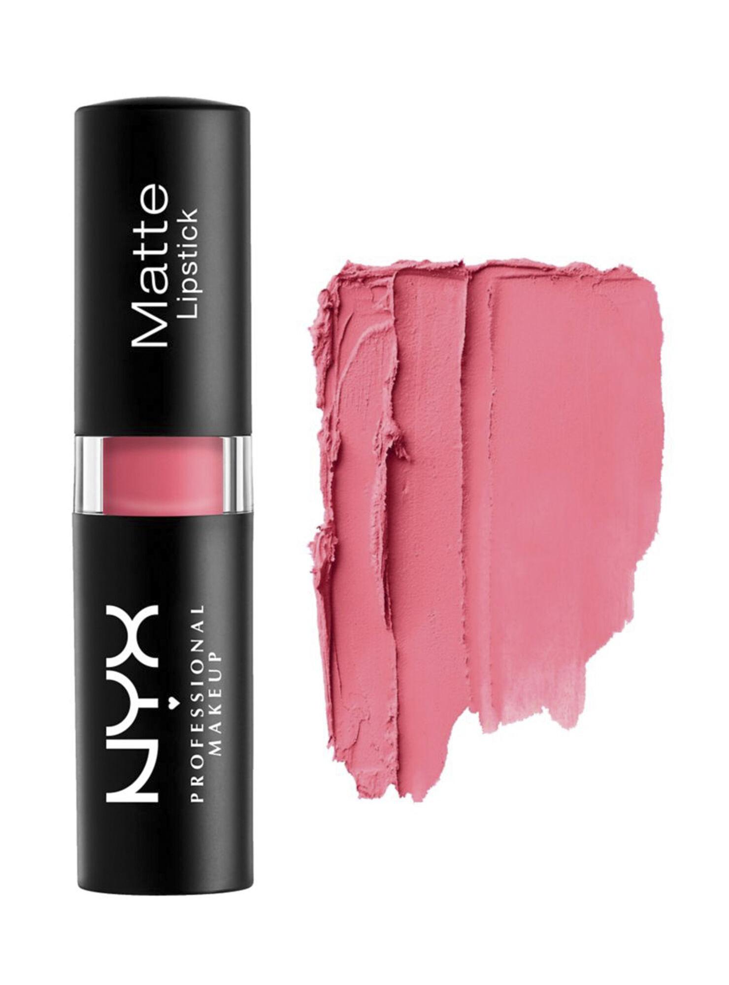 Labial Matte Lipstick Tea Rose Nyx Professional Makeup Maquillaje