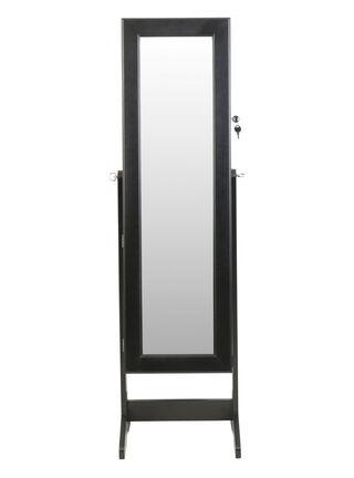 Espejo Joyero 1.46 Negro Attimo,,hi-res