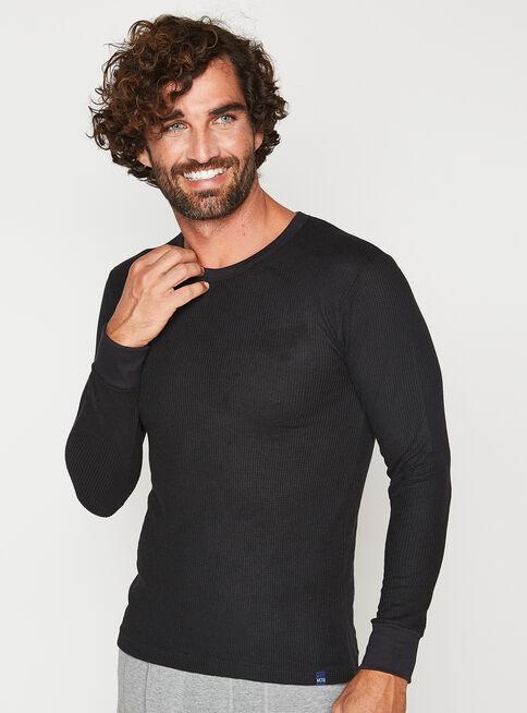 Camiseta%20Manga%20Larga%20Algod%C3%B3n%20Mota%2CNegro%2Chi-res