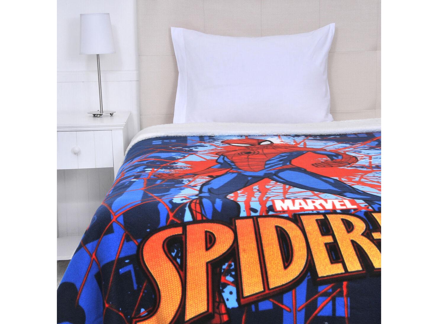 3fb7b58a4909 Frazada Sherpa Spiderman Marvel