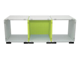 Mueble Modular Set 11 Piezas Blanco Verde Kab Möbel,,hi-res