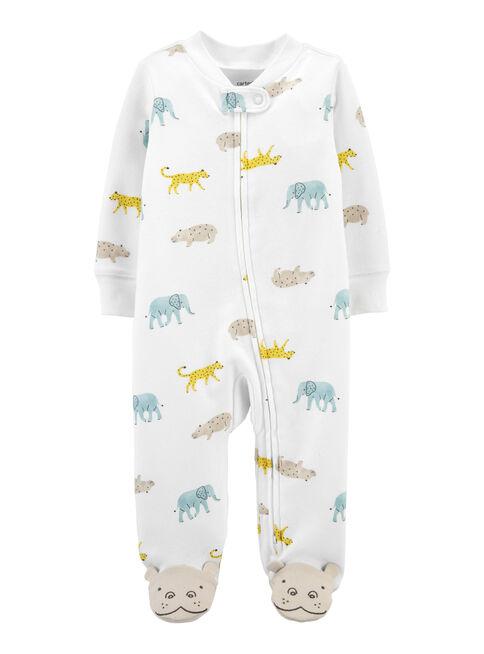 Pijama%20Algod%C3%B3n%20Animales%20Neutro%20Pre%20a%209%20Meses%20Carter's%2CCrema%2Chi-res