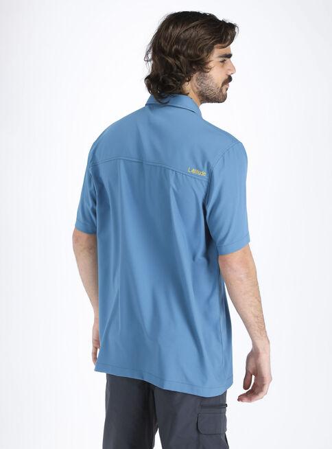 Camisa%20Manga%20Corta%20Latitude%20Hombre%2CAzul%20Marino%2Chi-res