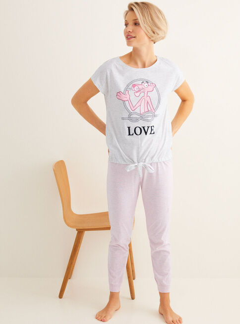 Pijama%20Pink%20Panther%20Sailor%20Women'Secret%2CGris%20Perla%2Chi-res