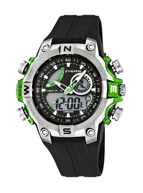 3aef8ceb7e09 Reloj Digital Calypso K5586 3 Hombre en Relojes