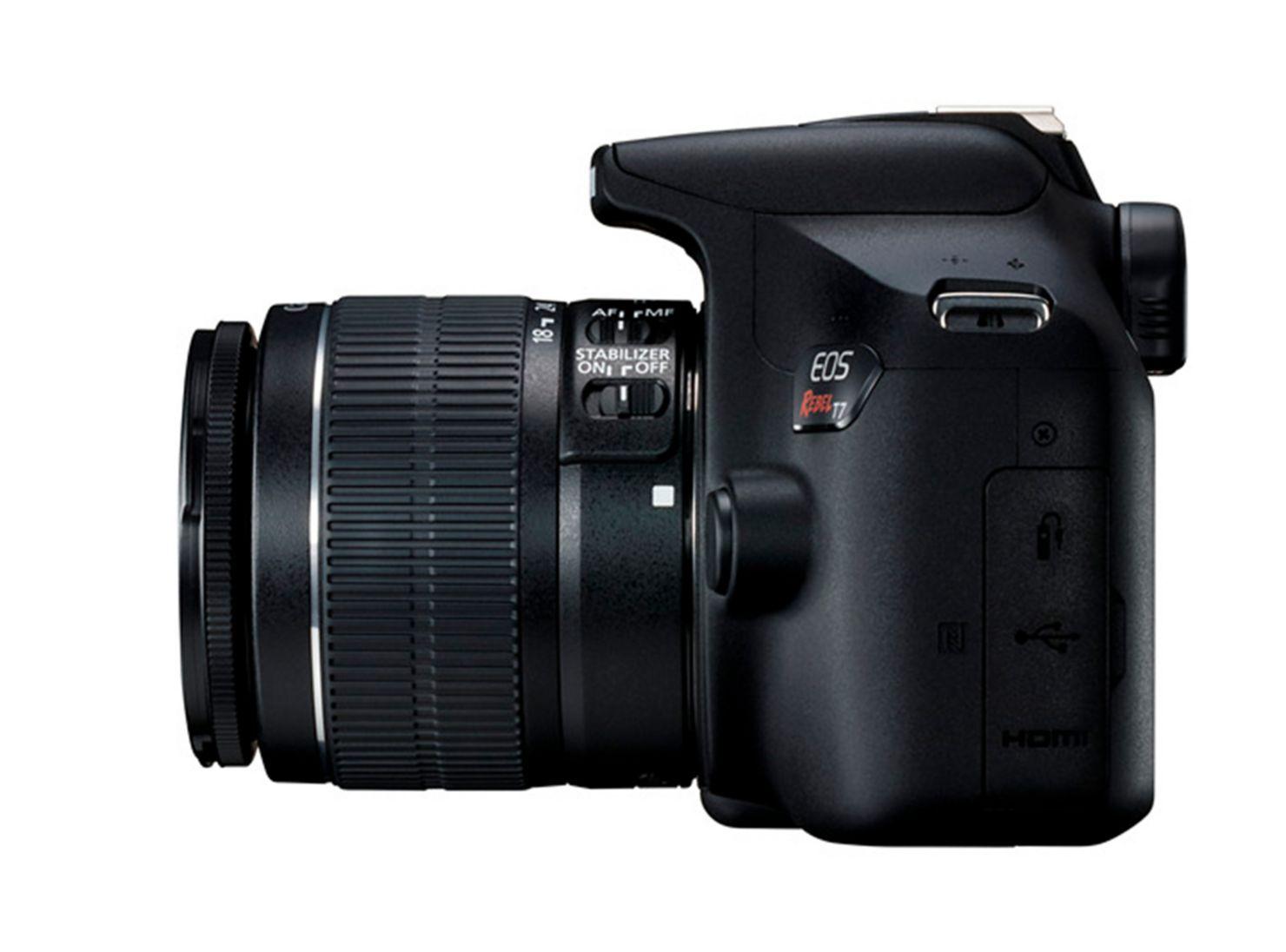 f6048c76a7 Cámara Reflex Canon T7 + Lente 18-55MM en Cámaras Réflex