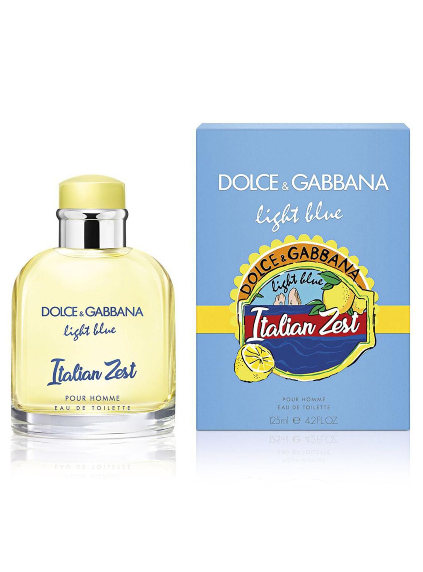 Perfume Dolce Amp Gabbana Light Blue Italian Zest Edt 125 Ml