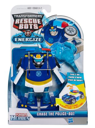 Figura Rescue Bots Chase Transformers,,hi-res