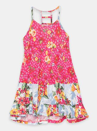 Vestido Umbrale Kids Print Floral Niña,Diseño 1,hi-res