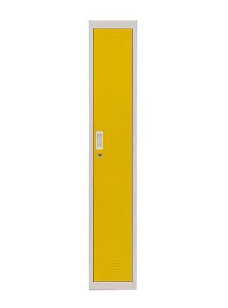 Locker Office Llaves Amarillo 1 Puerta 28x50x166 cm Maletek,,hi-res