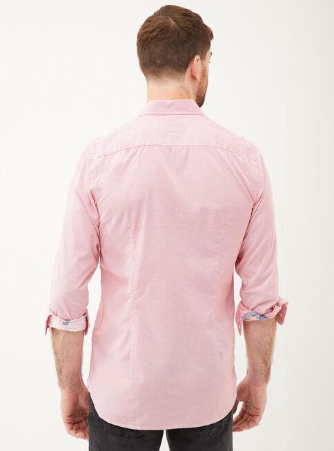 Camisa%20Algod%C3%B3n%20Manga%20Larga%20Mini%20Print%20Tommy%20Hilfiger%2CGranate%2Chi-res
