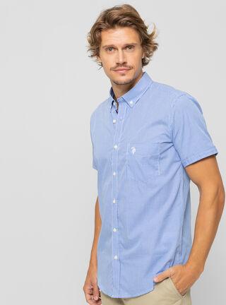 Camisa Sport US Polo,Azul Marino,hi-res