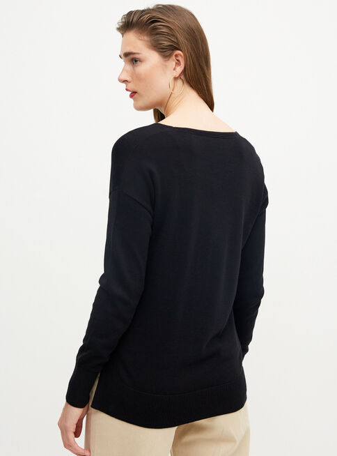 Sweater%20Cuello%20V%20Esprit%2CNegro%2Chi-res