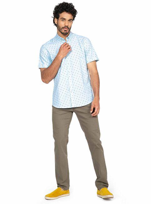 Camisa%20Sport%20Oxford%20Print%20Manga%20Corta%20Arrow%2CVerde%2Chi-res