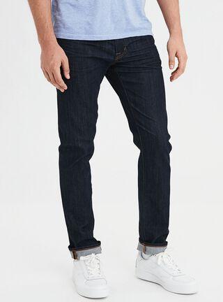 Jeans Slim Dark Flex American Eagle,Azul Oscuro,hi-res