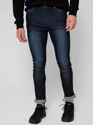 Jeans Básico Color Ellus,Azul,hi-res