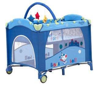 Baby Way Cuna Pack & Play BW-611A13 Azul,,hi-res