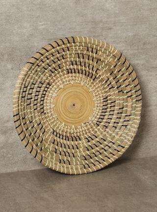 Plato de Cestería Étnico M2 Alaniz Home 36 x 7 cm,,hi-res
