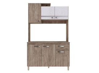 Mueble de Cocina Gabi 123x51x200 cm Stylo,,hi-res