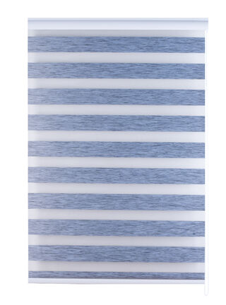Cortina Roller Day Night Linen Look Gris 120 x 170 cm Dib,,hi-res